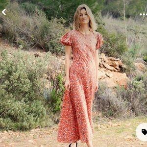 Doen Asalea Dress In Poppy Tasha Garden Size S